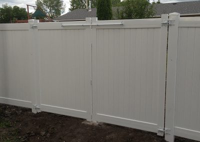 double gated fence