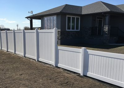 double tiered fence